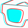 3D Glasses by eriklectric