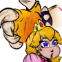 Bowser and Peach- 1 by TheZsquad667