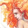 Hestia || Watercolor