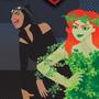 Gotham City Sirens Fan Poster