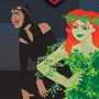 Gotham City Sirens Fan Poster