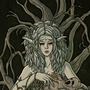 Ariline, the Brooding Maiden