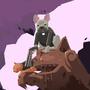 The Unholy Society - Exorcist french bulldog by FatDogGames
