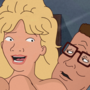 King of the Hill: Luanne & Hank