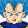ANIMATED - VEGETA Super Saiyan Blue (Limit Break)