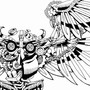 Steam-Punk Owl