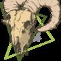 Goat head - Print