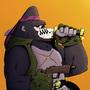 Guerrilla Gorilla - SIR BUBBLES by dimi3