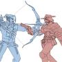 McCree and Hanzo Commission by RainbowDogma