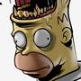 Homer Mouth Head