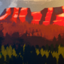 Sunset colourstudy