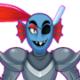 Undyne Idle by lightrail