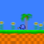 sonic running in green hill