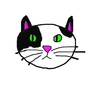 Photoshop Cat Drawing by Emphinix