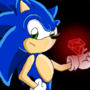 Sonic with Emerald