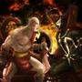 Kratos vs Spawn by Blud-Shot