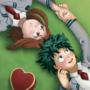 Izuku and Ochaco