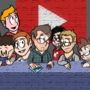 The Last Supper, but with YouTubers by BlueHoodieSquirtle