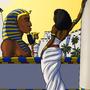 Nefertari Admires Her Capital