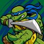 Blue Masked Sword Wielding Amphibious Martial Artist