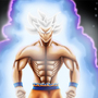 Ultra Instinkt Goku by Mullemuh
