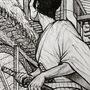 Samurai enters trouble