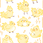 Kwei! Chocobo Sticker Set