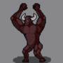 A gorilla like demon for my next unit