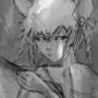 Tiger Shaman - Doodle at coffee shop