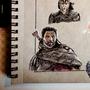 Thor Ragnarok - A4 - Random Character Drawing