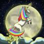 Unicorn Pooping Moonlight