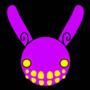 Prankster Rabbit Head by DoiDuh