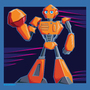 Tangerine the Robot by welldoboy