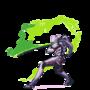 Genji Pixel Animation