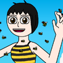 The Human Bee Queen by JTBPreston