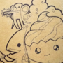 Pit People Custom Sketchbook cover! (Pit People Spoilers) by DedSecPony