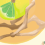 lime floating by fleepis