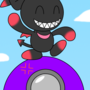 The Chao On The Circular Floating Speaker