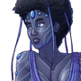 Hatian water goddess