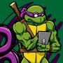 Bo Staff Wielding Purple Masked Amphibious Martial Artist!