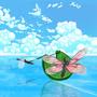 wakeboarding butterflies