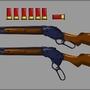 Winchester 87 Lever Shotgun by voodoobob