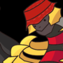 Giratina but with a bucket hat