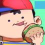 trash burger child