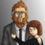 Mr. and Mrs. Harrison [Portrait II]