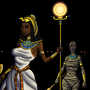 Egyptian Sorceress and Her Sisters