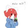 Comic - Melon milk by Bit-Small
