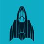 Minimal Blue Falcon, Big Fang