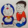 Drawing Doraemon and Nobita   EternalSeito