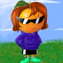 An Orange with Silky Smooth Hair, A Sweater, Crocs, and a Razor Blade in its Sock by Camuri